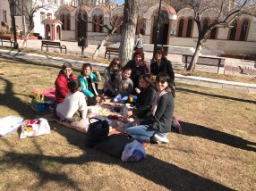 Picnic with the kids