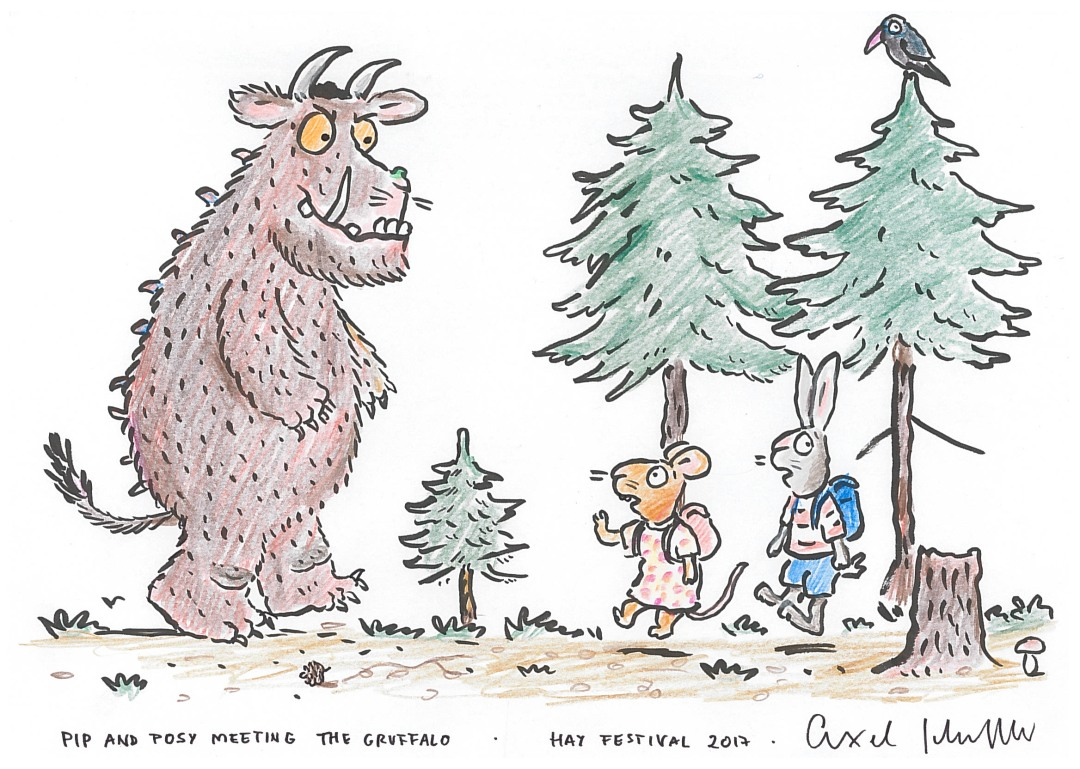 The-Gruffalo-meeting-Pip-and-Posy