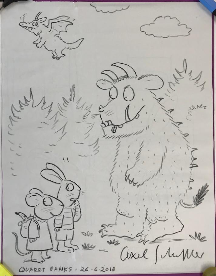 Pip and Posy meet The Gruffalo