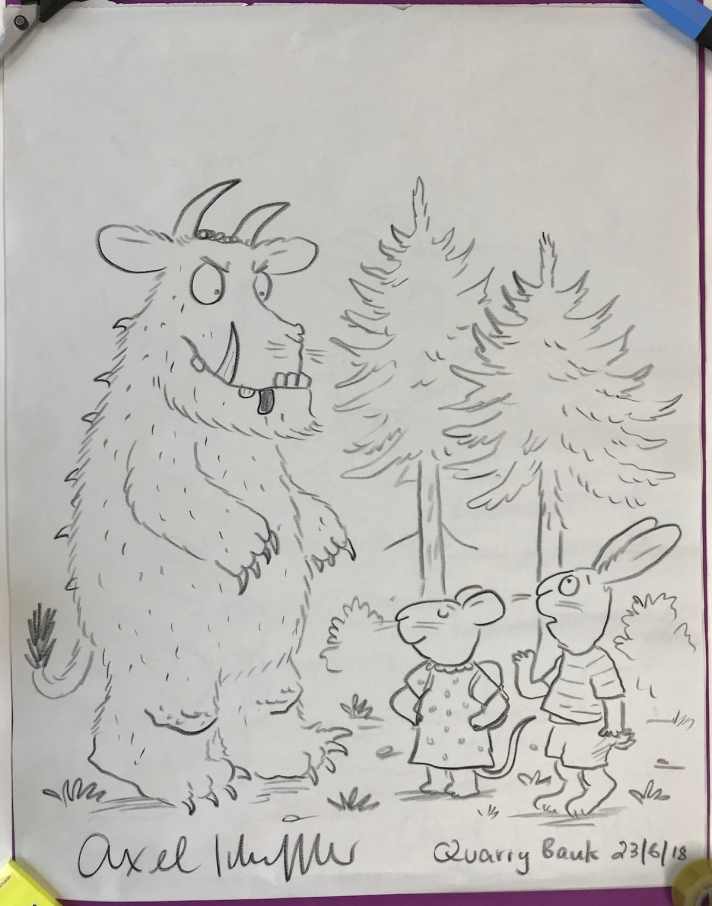 The Gruffalo meets Pip and Posy