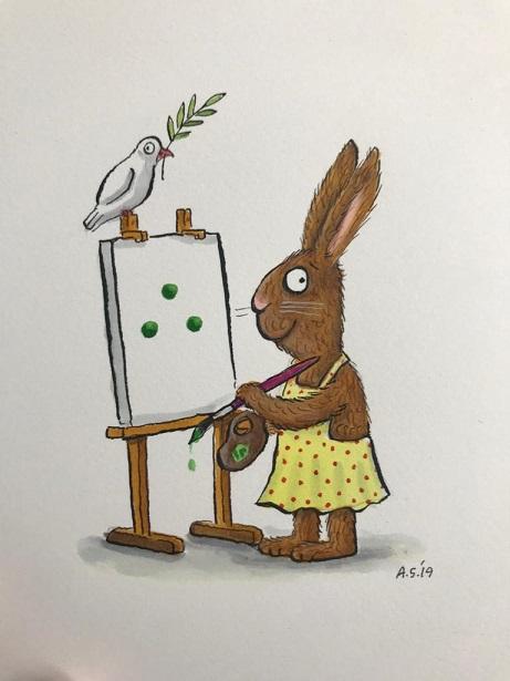 Art Auction Rabbit website