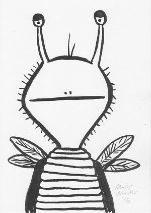 Philip Waechter Butterfly Alien - Copy